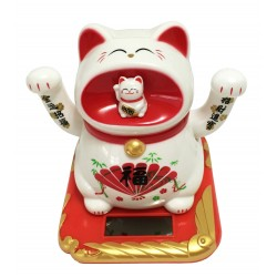 Lucky Waving Cat (Solar)
